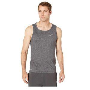 Nike Dri-Fit Training Tank Men's Large Gray